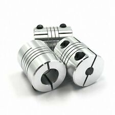 3pcs 8 x 10mm Flexible Shaft Coupling CNC Stepper Motor Coupler Connector D20L25