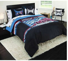 FULL  - Tapout - All American - 4-Pc Set - 1 PILLOW, 2 SHAMS & 1 COMFORTER SET