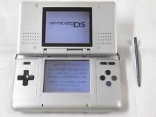 U1677 Nintendo DS console Platinum Silver Japan NDS w/stylus pen