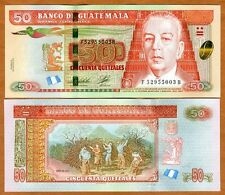 Guatemala, 50 Quetzales, 2012 (2014), P-NEW, UNC > Upgraded Security