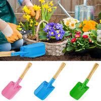 Mini Garden Tools Shovel Rake Spade Wood Handle Metal He Kids Plant Tool Sandpit