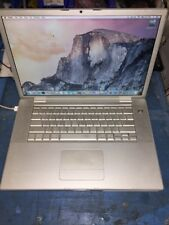 """Apple Macbook Pro  A1260 15"""" C2D 2.5GHz 4GB Memory 200GB HHD EARLY 2008 NICE"""