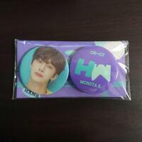 MONSTA X JPN Fan Meeting Vol.2 PICNIC Official Hyungwon Can badge FAN CONCERT
