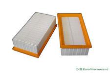 Filter für 2 x Festo Festool CT 22 E Luftfilter Lamellenfilter Faltenfilter