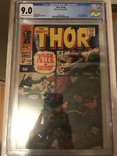 CGC 9.0 Thor #149 *OW-White*1968*Wrecker App.*Inhumans backup story*