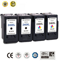 4 PK PG-245XL & CL-246XL For Canon Ink Cartridge PIXMA MX492 MX490 MG2522 TS302