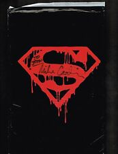Death of Superman Black bagged ~ Signed by Mike Carlin ~ 1992 (Sealed) WH