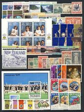 New Zealand mnh vf collection of sets and sheets with $20 stamp on one stockpage