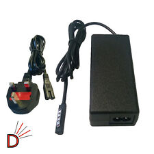 "AC Wall 12V CHARGER for Microsoft Surface 1 & 2 Windows RT 10.6"" ZVCH219 UK PLUG"