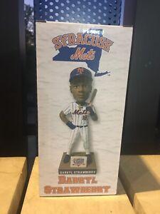 2021 Syracuse Mets DARRYL STRAWBERRY BOBBLEHEAD SGA NEW YORK YANKEES NY World