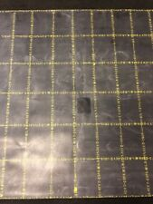 """ONE NEW 36""""x36"""" Solid Black Rubber Sheet Smooth Floor Mat MIL-R-2765D"""