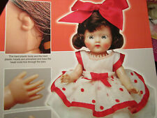 16pg GINGER Doll History Article DARLING OF DOLL WORLD / Leif