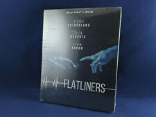 FLATLINERS 1990 Steelbook Bluray Import Sutherland Roberts Bacon [Read/Lire]