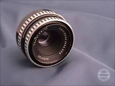 5469 - M42 Carl Zeiss Jena Tessar [Zebra] 50mm f2.8 Prime Standard Lens