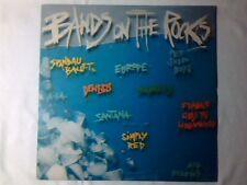 LP BANDS ON THE ROCKS SANTANA SMITHS SPANDAU BALLET GENESIS PET SHOP BOYS EUROPE