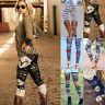 Casual Women's Stretchy Leggings Skinny Leggings Slim Pencil Pants Trousers Lot