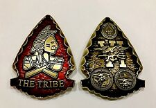 NAVY SEALS SEAL TEAM 6 VI DEVGRU NSW INDIAN ARROW TRIBE CHALLENGE COIN NON CPO !