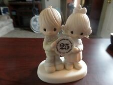 1983 Precious Moments God Bless Our Years Toge 00004000 ther 25 Years Figurine #3502