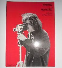 Libro NANNI MORETTI Saggio Biografia Dino Audino Editore Cinema Script Leuto