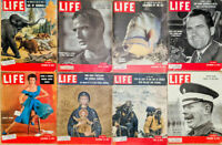 Lot of 16 1953 LIFE Mag - Venessa Brown Stewart Marlon Brando Churchill Nixon -A