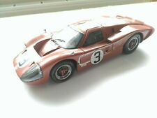Exoto Ford GT40 1967 Le Mans No 3 Andretti car, very rare mint model.
