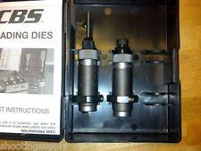 RCBS Small Base Taper Crimp 2 Die Set 260 Remington AR Series NEW 12807
