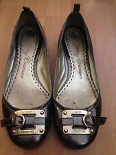 JUICY COUTURE SIZE 37 1/2 BALLERINA FLAT! BARELY USED!!,
