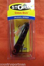"""STORM Rattlin' Chug Bug (2 1/2"""") (1/4 oz) #CB06-212 Black/Red HB"""