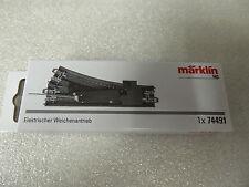 Märklin Gleis 74491 H0 elektrischer Weichenantrieb