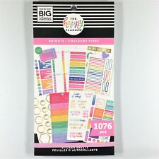 The Happy Planner Brights Sticker Book Pack Of 1076 Me & My Big Ideas