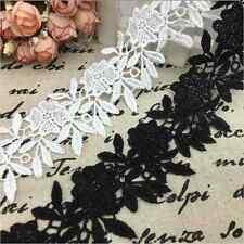 1 Yard DIY Lace For Wedding Bridal Ribbon Dress Sewing Trim Embroidered Craft