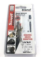 "TREND SNAPPY 1/4""SQ DRIVE ADAPTOR TO 1/4""HEX  SNAP/SDA/1"