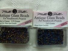 MILL HILL ANTIQUE GLASS BEADS - 03013 x2 PACKS - 2.63 grams