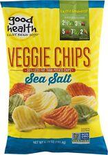 Good Health Veggie Chips with Sea Salt 6.75 oz. Bag (4 Bags)