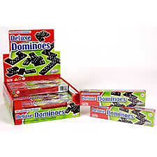 Deluxe Dominoes Traditional Board Games Kids Fun Play Set HTI 3289
