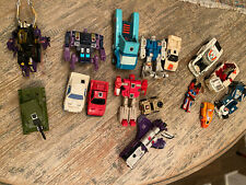 Transformers G1 Vintage Lot 16 1980s Rare Toys Autobots Insecticons Mini Target