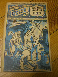 """""""This Weeks Guide to Cape Cod"""" - published July 13, 1946. Info. for Visitors"""