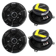 """4) Kicker 41DSC54 D-Series 5.25"""" 400 Watt 2-Way 4-Ohm Car Audio Coaxial Speakers"""
