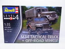 49172 | Revell 03260 M34 Tactical Truck + Off-road Vehicle 1:35 Bausatz NEU OVP