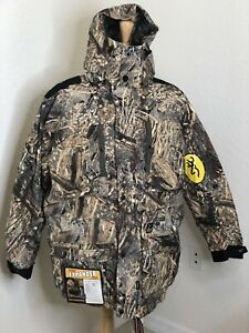 BROWNING NEW LARGE XPO GRAND PASSAGE INSULATED 3/4 LENGTH HUNTING PARKA JACKET