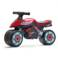 Moto cavalcabile X RACER rossa (1/3 anni)  prodotta in Francia da FALK