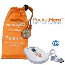 Microchip Id Systems Pocket Hero Handheld Iso Microchip Reader Scanner Orange