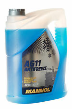 Mannol AG11 Antiefreeze Kühlerfrostschutz Kühlmittel bis -40°C 5L Kanister