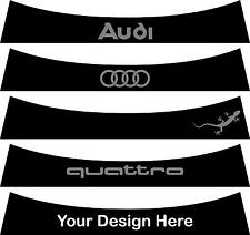 Sunstrip for a Audi A1  MK1 2010 to 2018 - pre cut, no trimming required