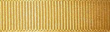 25mm Berisfords Gold Grosgrain Ribbon 20m Reel