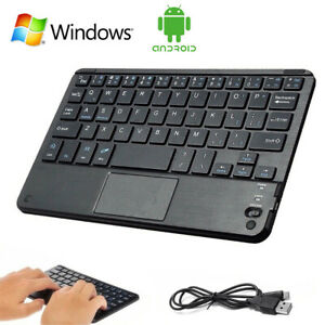 MINI Bluetooth Keyboard with Touchpad For Windows PC Smart TV Android IOS Tablet