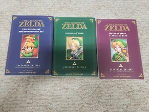 The Legend of Zelda Manga. 3 legendary edition books.