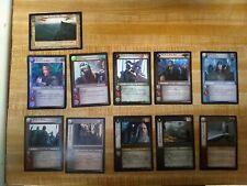 LOTR TCG small lot Aragorn & Gimli Foil plus others