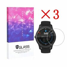 For Ticwatch 2 Tempered Glass Screen Protector Full Coverage 9H Hardness (3 pcs)