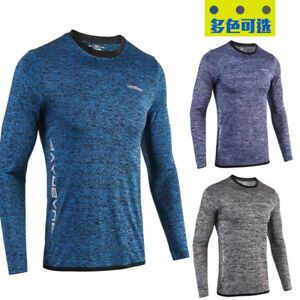 Fitness clothing men long sleeve loose quick-drying running sport T-shirt tights